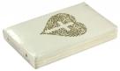 """БИБЛИЯ (048 zti, код 11.1, белая, золотая фольга, """"сердце и крест"""")"""
