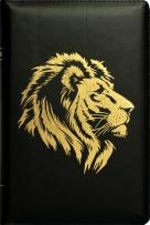 """БИБЛИЯ (048 zti, код 2.1, черная, """"золотой лев"""")"""